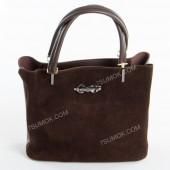 Жіноча сумка 010M coffee-zamsha