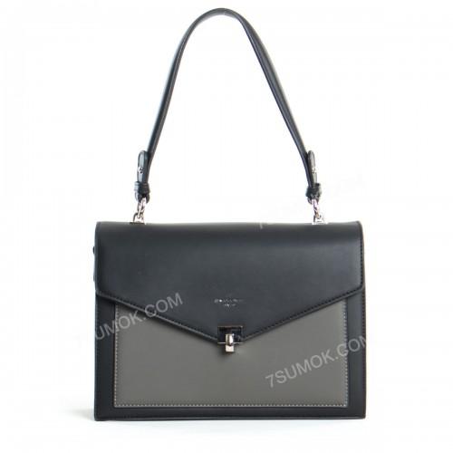 Клатч 6409-2T black