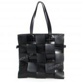 Жіноча сумка 104 black-crocodile-kombi
