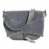 Клатч 086 gray-zamsha
