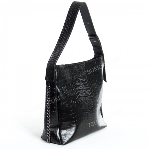 Жіноча сумка 103 black-crocodile