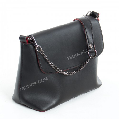 Клатч 061 black-red