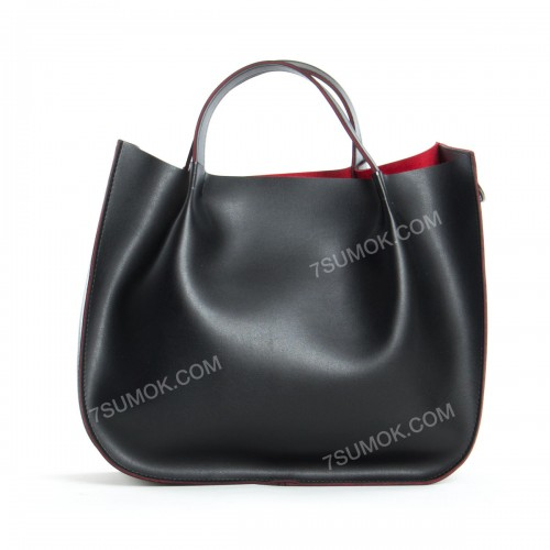 Жіноча сумка 147 black-red