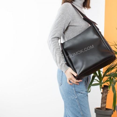 Жіноча сумка 103 black-red