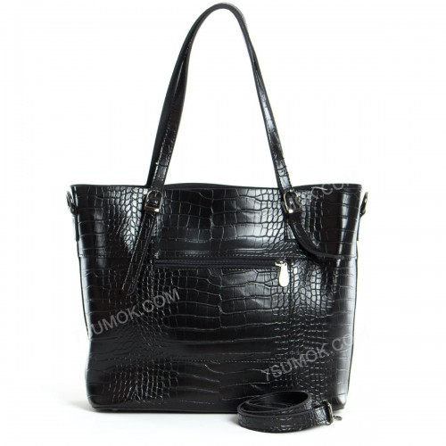 Жіноча сумка 110 black-crocodile