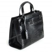 Жіноча сумка 027 black-crocodile
