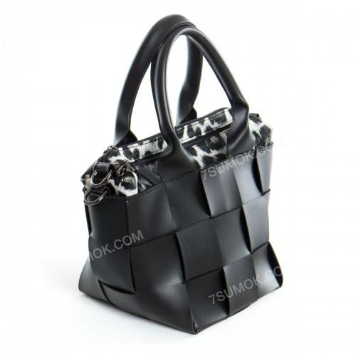 Жіноча сумка 107 black-rys