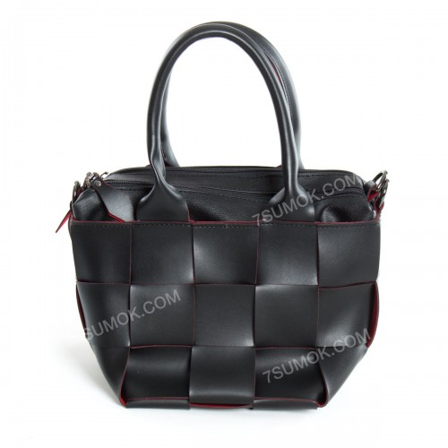 Жіноча сумка 107 black-red