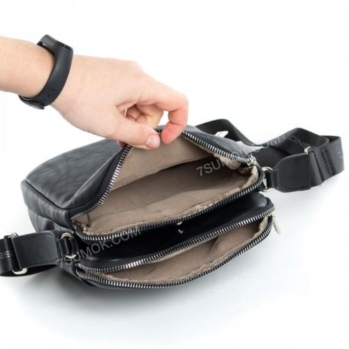Чоловіча сумка 5984-1 black