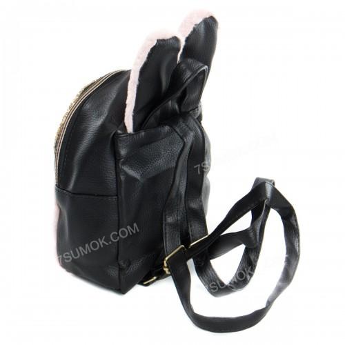 Дитячий рюкзак NW1030 black-pink