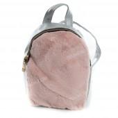 Дитячий рюкзак NW1032 silver-pink