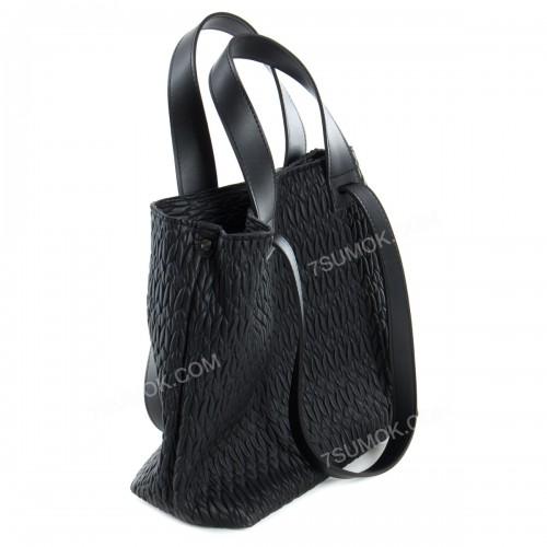 Жіноча сумка 106 black-zerno