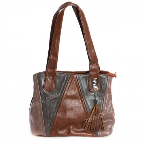 Жіноча сумка 11816 yellowish brown