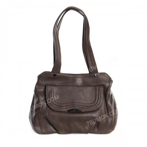 Жіноча сумка 12218 dark khaki