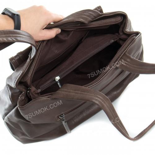 Жіноча сумка 12218 coffee