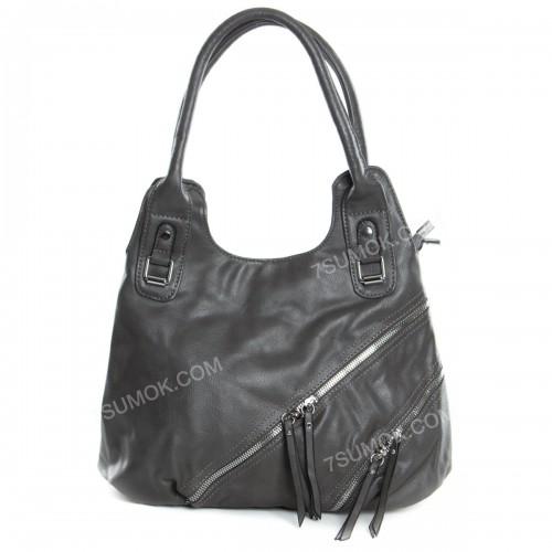 Жіноча сумка 77941 gray