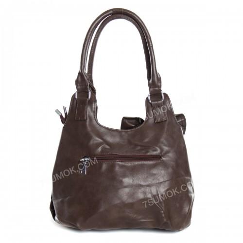 Жіноча сумка 7080 brown