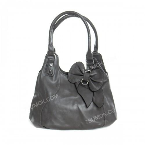 Жіноча сумка 7080 gray