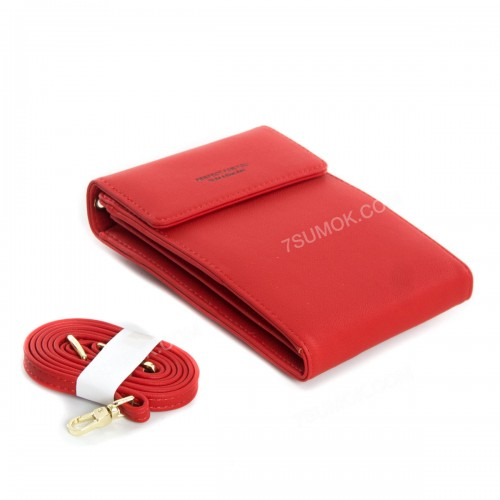 Гаманець-клатч 6943-002 red