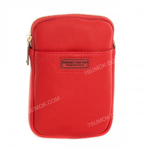 Гаманець-клатч D969-1 red