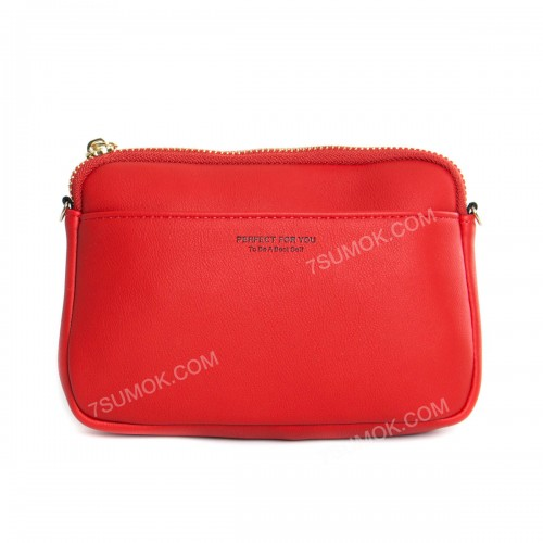 Гаманець-клатч 6988-001 red
