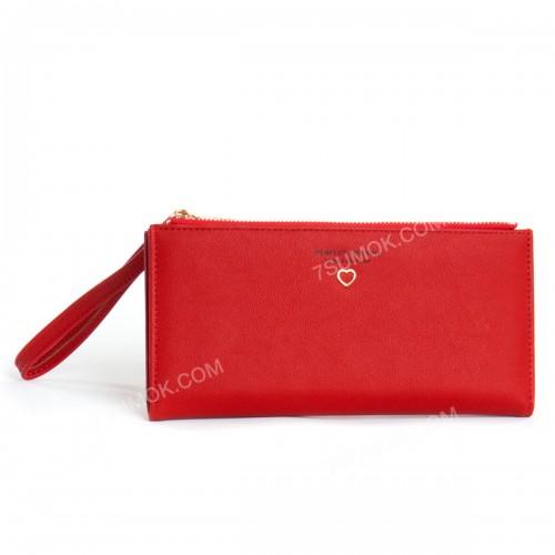 Жіночий гаманець 6902-011 red
