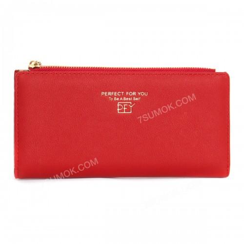 Жіночий гаманець 6902-003 red