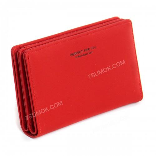 Жіночий гаманець 6929-001 red