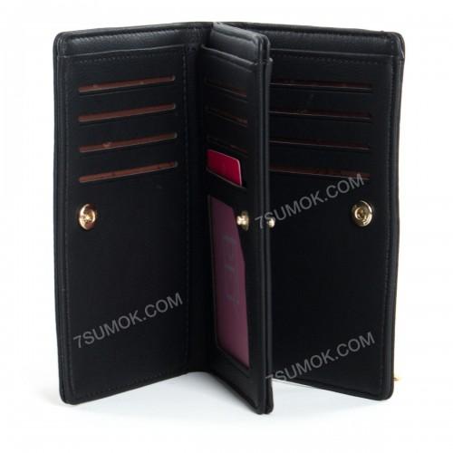 Жіночий гаманець 6929-001 black