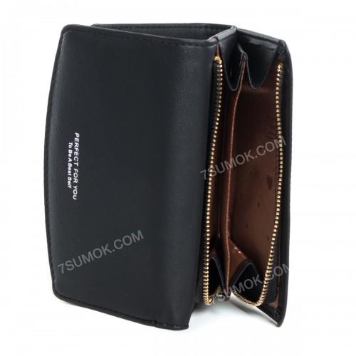 Жіночий гаманець B7362-2 black