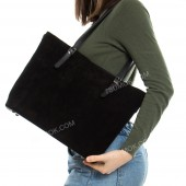 Жіноча сумка 110 black-zamsha