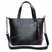 Жіноча сумка 112 black-red