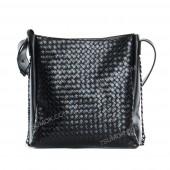 Жіноча сумка 103 black-pletenka