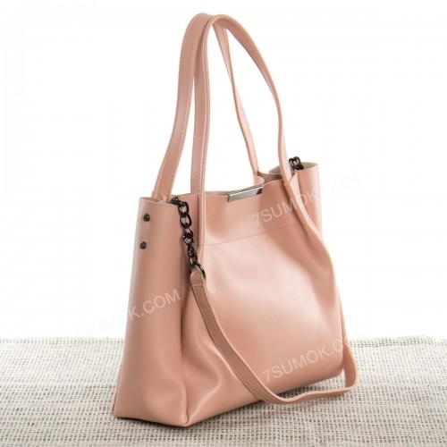 Жіноча сумка 011 pink