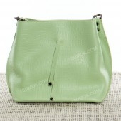 Жіноча сумка 060 light green-crocodile