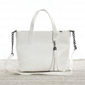 Жіноча сумка 112 white-crocodile