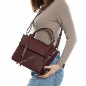 Жіноча сумка 213 big bordo