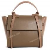 Жіноча сумка 213 big khaki-pink