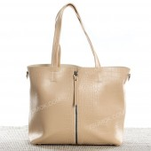 Жіноча сумка 187 beige-crocodile