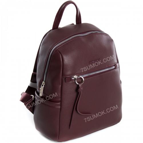 Жіночий рюкзак 6422-2T dark bordeaux