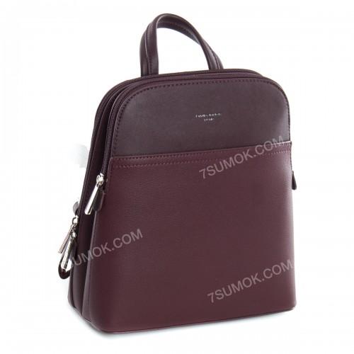 Жіночий рюкзак 6221-2T dark bordeaux