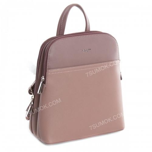 Жіночий рюкзак 6221-2T dark pink