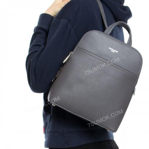 Жіночий рюкзак 6221-2T dark gray