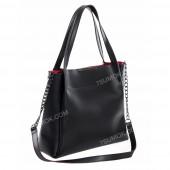 Жіноча сумка 011 black-red