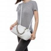 Жіноча сумка 095-cepochka white