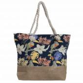 Пляжна сумка 117 blue-toucan
