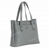 Жіноча сумка 115 light gray-crocodile-kombi
