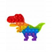 Антистрес іграшка Pop It dinosaur