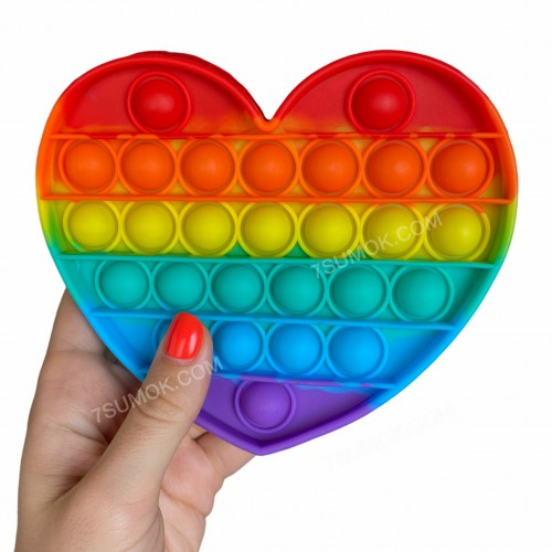Антистрес іграшка Pop It heart
